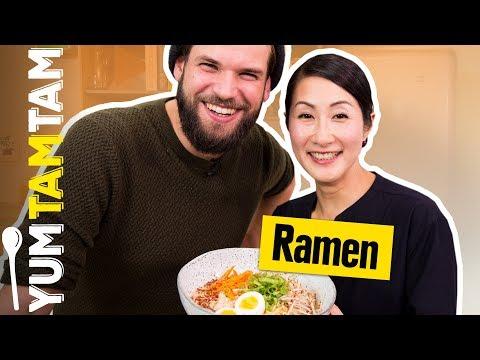RAMEN, LAMEN oder RAHMEN? // Vegetarische Ramen-Suppe mit Kaoru Iriyama // #yumtamtam