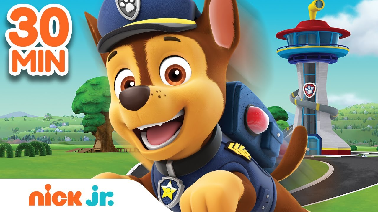 Download Best of Chase 🐶 PAW Patrol! | 30 Minute Compilation | Nick Jr.