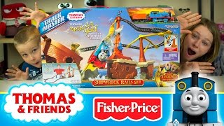 Thomas and Friends TrackMaster Train Toys Shipwreck Rails Set | Kinder Playtime