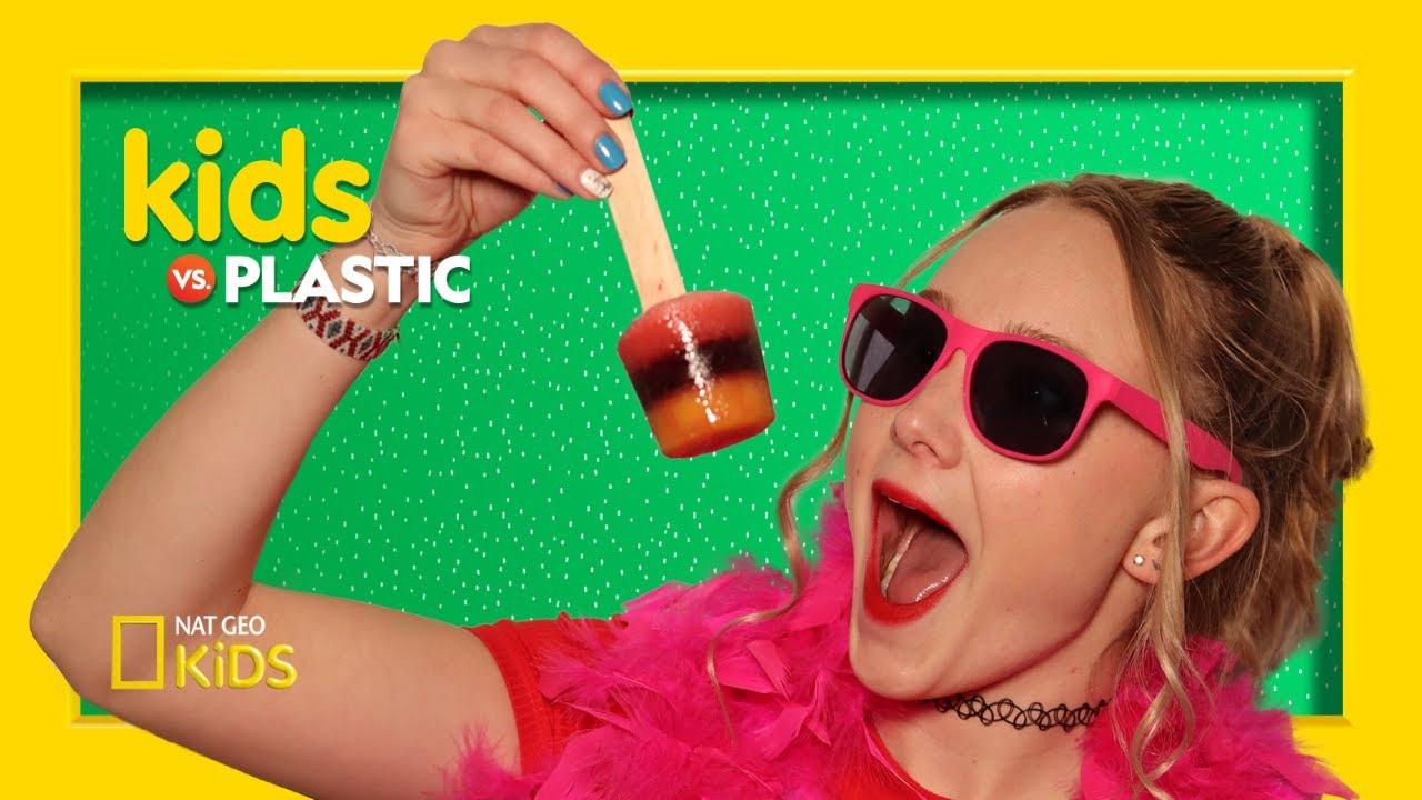 DIY Rainbow Unicorn Ice Pops | Kids Vs. Plastic
