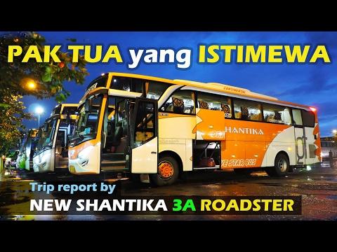 """PAK TUA yang ISTIMEWA! Trip report Kudus—Depok by New Shantika 3A """"Roadster"""""""