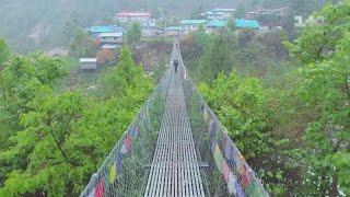 Праздник в Катманду и дикие джунгли на границе с Индией. Непал. Мир наизнанку - 11 серия, 8 сезон