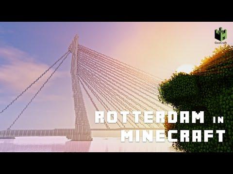 Rotterdam In Minecraft: GeoCraftNL Heel Nederland In Minecraft! [1.13.2]