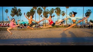 10 Minute Photo Challenge with Dance Moms Elliana W. and Friends Rocking Venice Beach