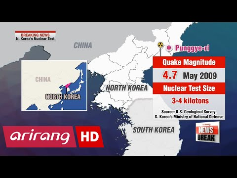 Timeline of N. Korea's past nuclear tests version 2