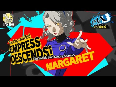 Persona 4 Arena Ultimax (PS3/Xbox 360) Margaret DLC Gameplay [ENG]