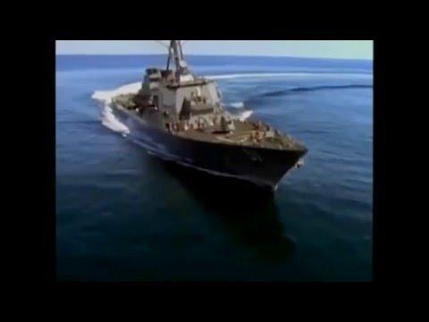 Arleigh Burke Class destroyer..