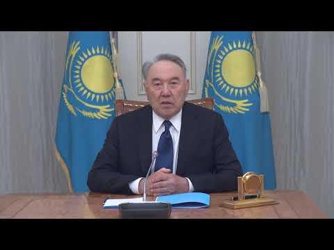 Елбасы Нұрсұлтан Назарбаевтың Жеңіс күнімен құттықтауы