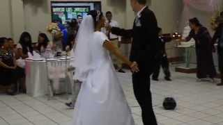 Markus & Emilys first dance at the wedding in Lima, Peru