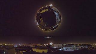 Fireworks 2017 Dubai 360Video Burj khalifa Burj Al Arab Atlantis