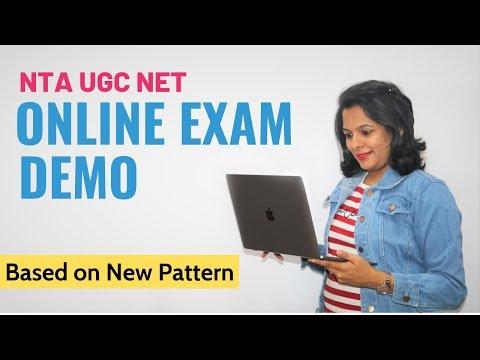 NTA UGC NET Online Exam Demo (Based on new Online Pattern)