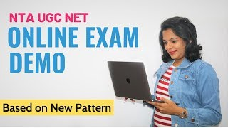 NTA UGC NET Online Exam Demo: Giving Online Exam is not that difficult. Find Out Why