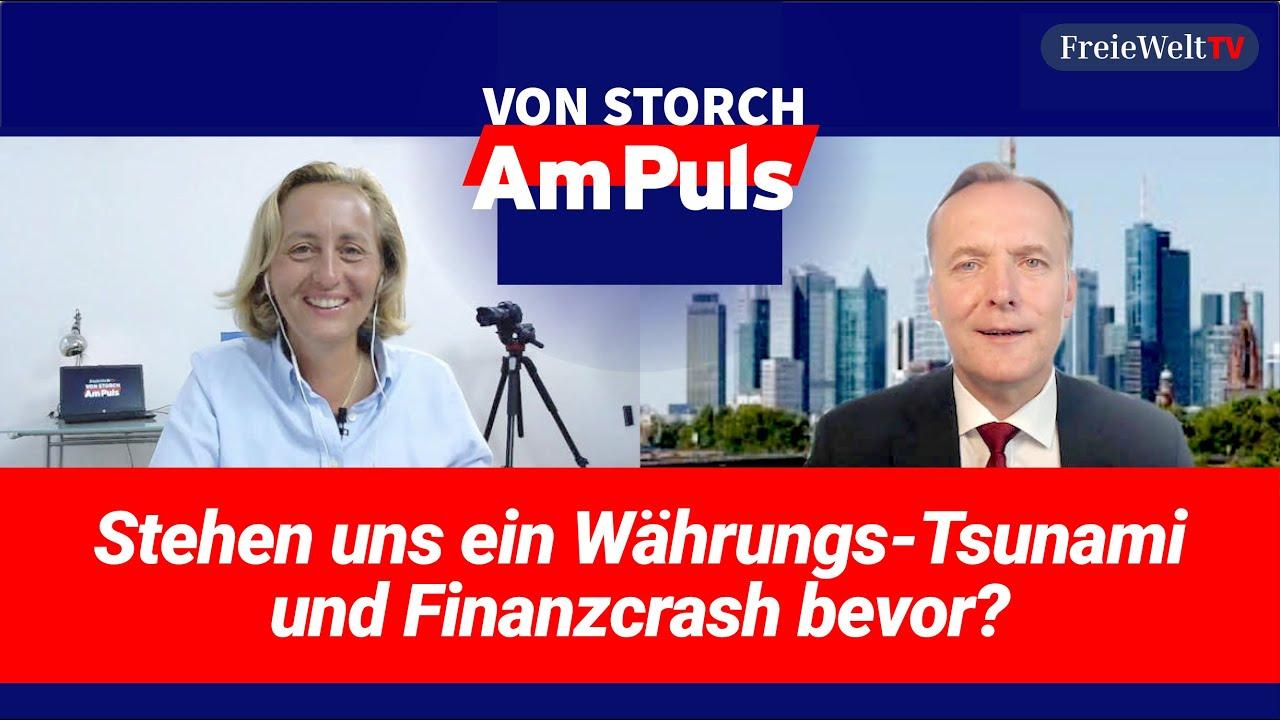 Stehen uns ein Währungs-Tsunami und Finanzcrash bevor? Beatrix von Storch redet mit Thorsten Polleit