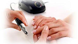 Опил гелевых ногтей фрезером (уроки дизайна ногтей)
