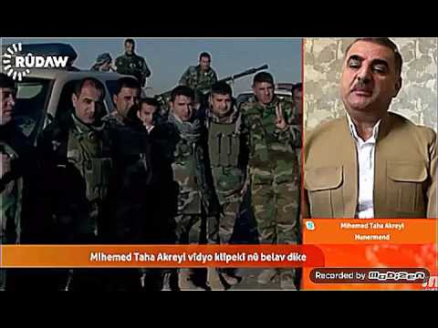 Rudaw Tv Peshmerga 2016 Mehemed Taha Akreyi