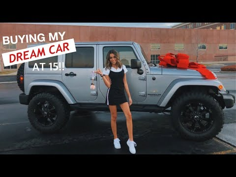 BUYING MY DREAM CAR AT 15!