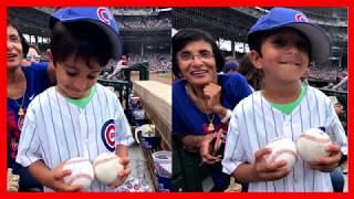 Cubs intervene after adult fan shamelessly steals a baseball from a child