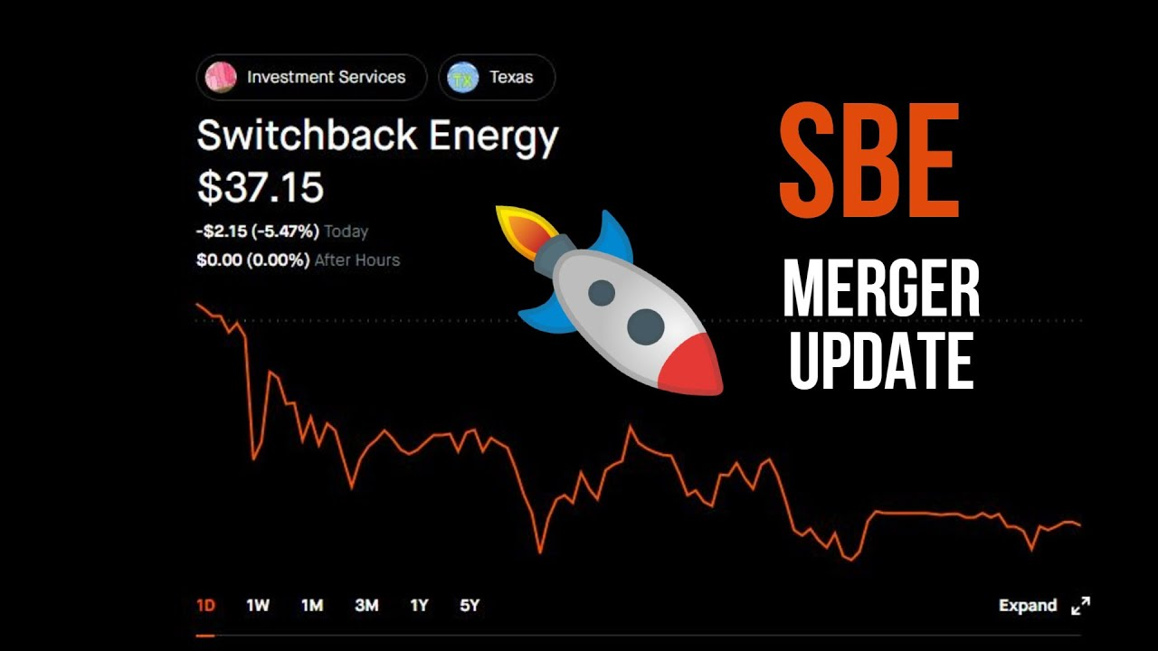 Download Huge Merger Update for Switchback Energy (SBE) and ChargePoint