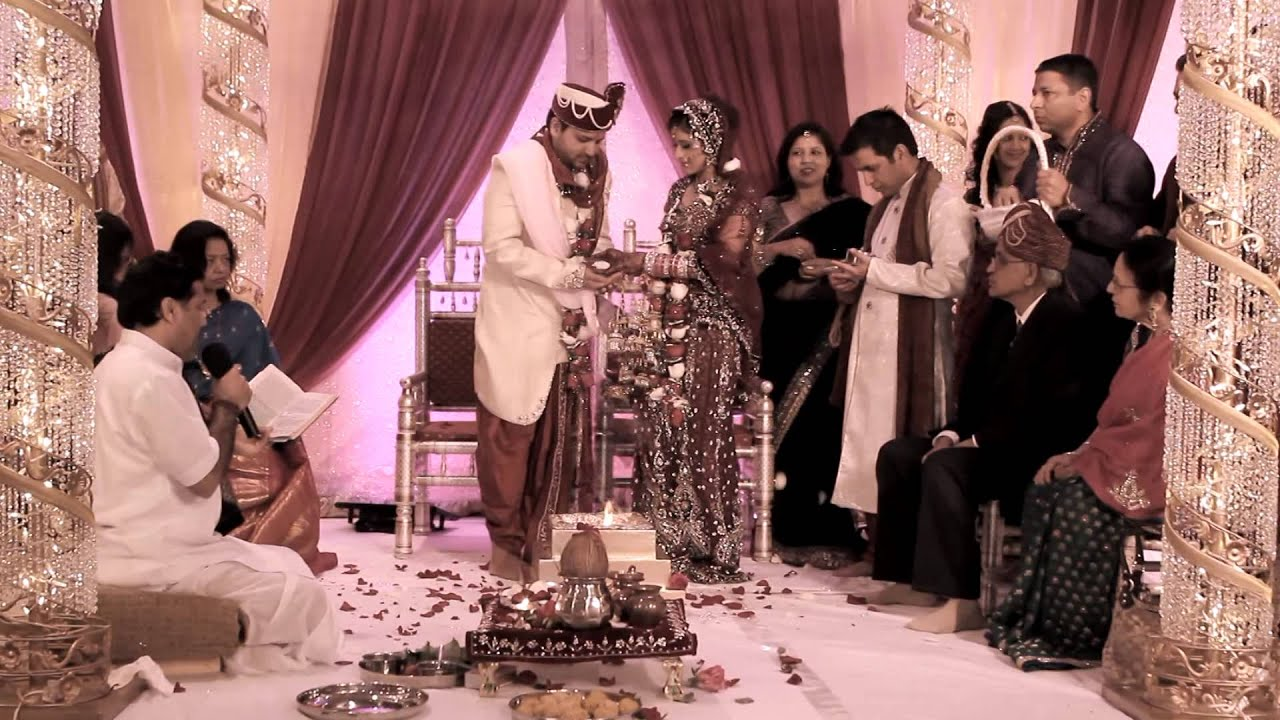 Nidi and Sachin Wedding Highlights 2014 - YouTube