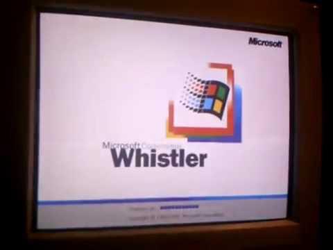 Install Windows Whistler Build 2257 - Microsoft Anna Part 1
