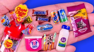 17 DIY Miniature Ideas Realistic Food, Sweets Crafts and Hacks~Chupa chups, Butter Cookies~~