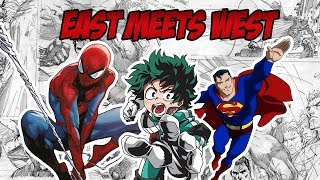 How My Hero Academia is the Ultimate Fusion of East and West Storytelling | My Hero Month
