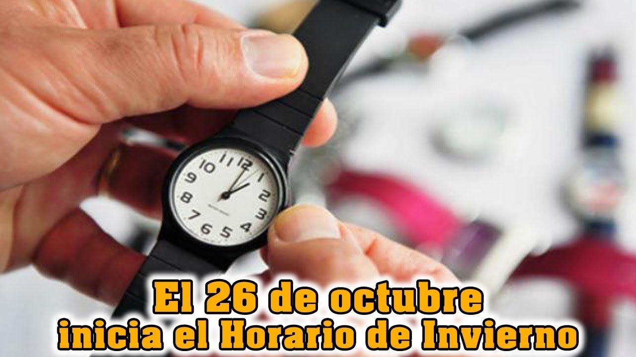 México 26 De Octubre El Cambio De Horario Youtube