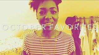 FAVORITES | October 2014 Favorites Thumbnail