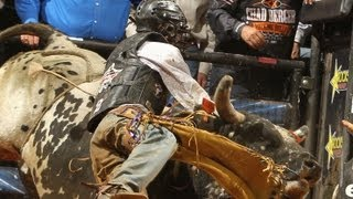 WRECK: J.B. Mauney takes two hard hits in Charlottesville
