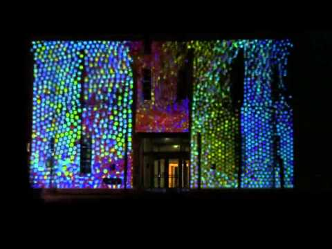 Projection Mapping (highlights), School of Art