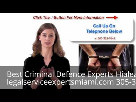 Criminal Defence Attorney Hialeah Gardens