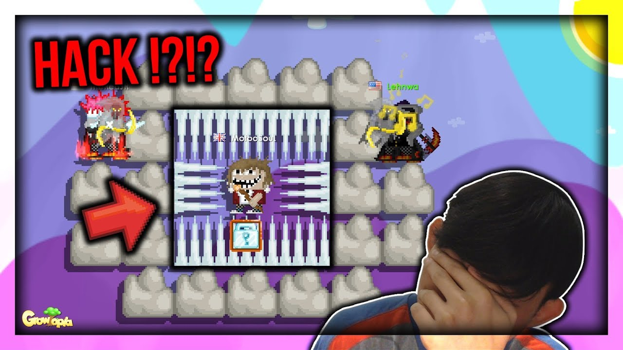 Steel Chair Growtopia French Occasional Hacker Glitch Melayang Terbaru Invisible Indonesia