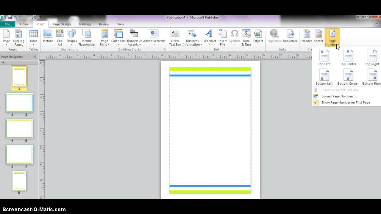 Microsoft Publisher- Booklet - YouTube
