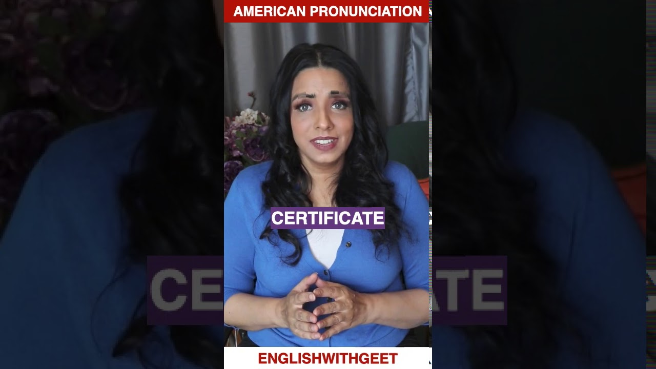 Learn English Pronunciation   Practice to Improve Your Accent   English With Geet   #shorts