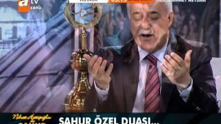 Nihat Hatipoğlu SAHUR DUASI 26/7/2012