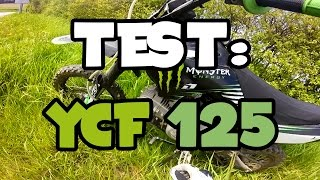 [Test] Pit bike Dirt Bike YCF 125