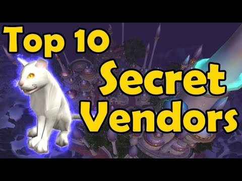 Top 10 Secret Vendors In WoW