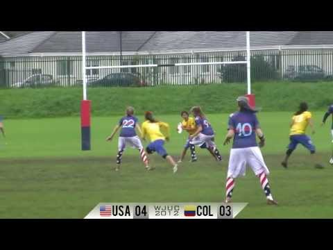 Team USA Girls vs Colombia Power Pool - WJUC 2012