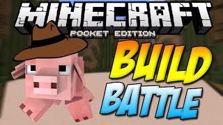 [0.11.1] FARMS!! - BUILD BATTLE MINIGAME!! - Minecraft Pocket Edition