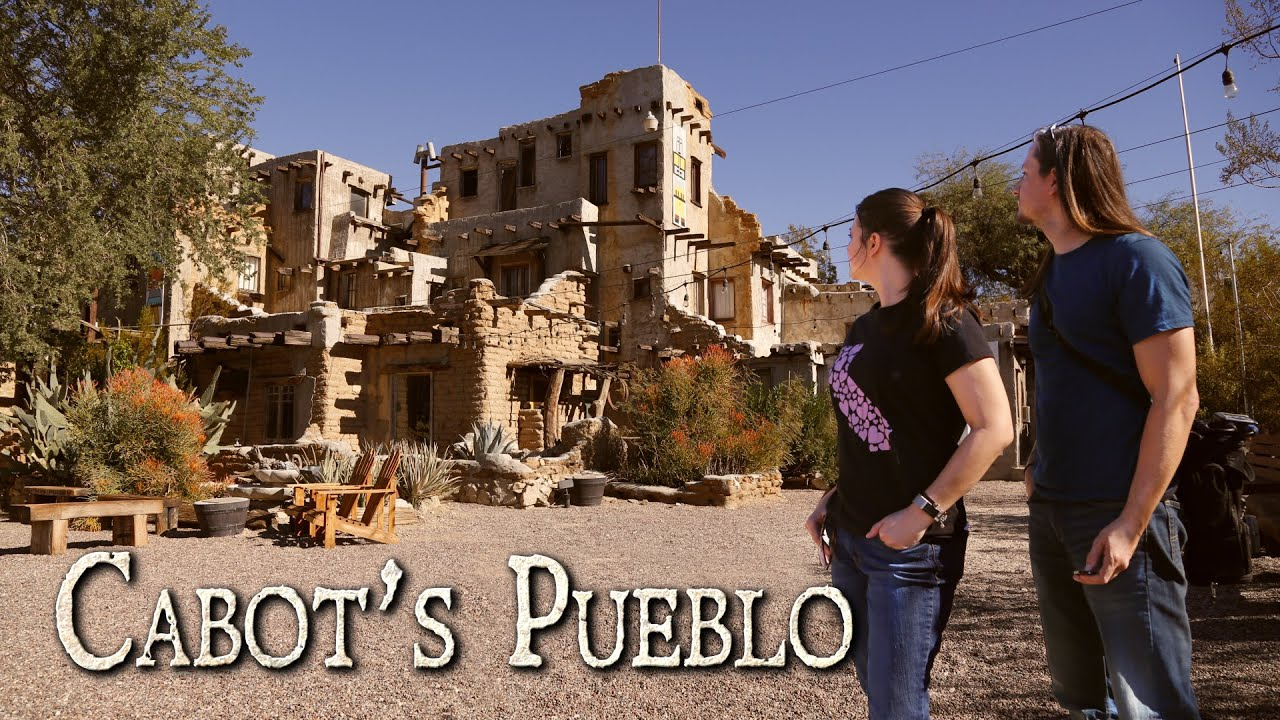 Exploring the Historic Cabot's Pueblo in Desert Hot Springs