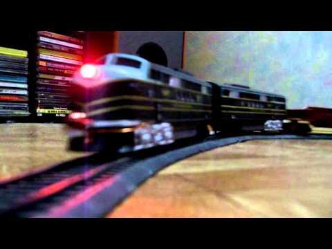 Поезд Голубая Стрела - Спецпоезд-рельсовоз