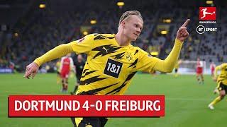 Borussia Dortmund vs Freiburg (4-0) | Bundesliga Highlights