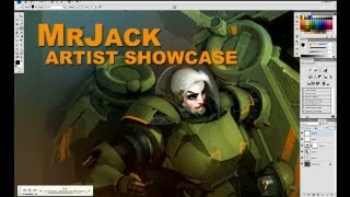 Artist Showcase: MrJack [digital painting commentary]
