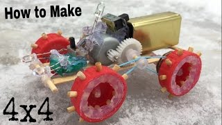 how to make a car mini off road car simple robbot