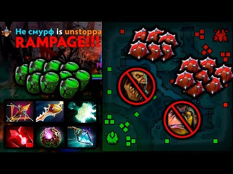 TECHIES RAMPAGE! Carry Rapier Build 2 Hours Game Dota 2