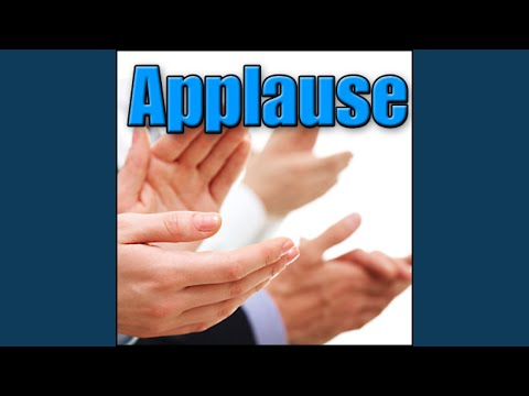 Applause - Indoor: Medium Crowd in Theater, Audience, Theatre Applauding & Clapping Crowds, Dr....