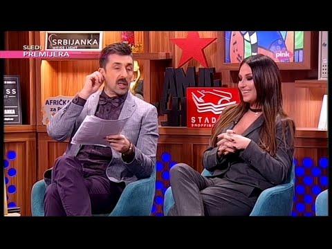 Katarina Zivkovic o Banetovoj svadbi - Ami G Show S09