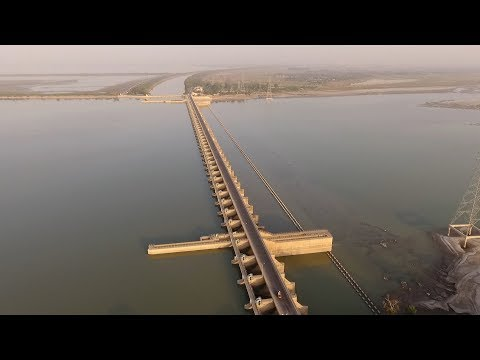 Irrigation Canal Makes the Desert Bloom in Pakistan's Punjab