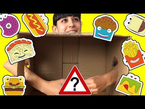 COSA C'E' NELLA SCATOLA?! - What's in the box Challenge PAFFY YUMMY EDITION!!!