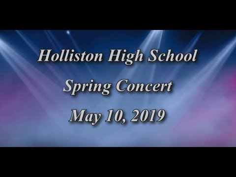 Holliston High School Spring Concert-2019